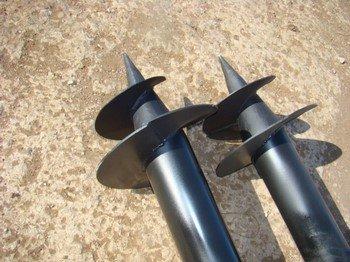 Производство и установка винтовых свай