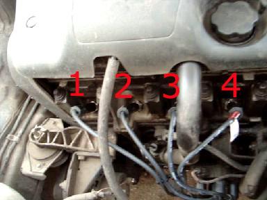 Как правильно заменить высоковольтные провода зажигания на 8 клапанном двигателе