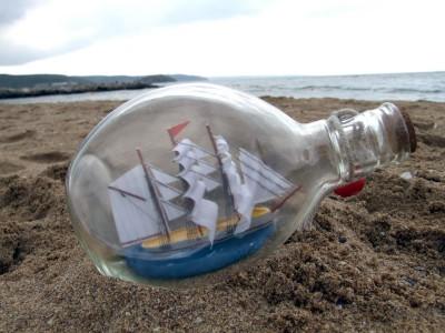 Корабль в бутылке,как сделать,как продать